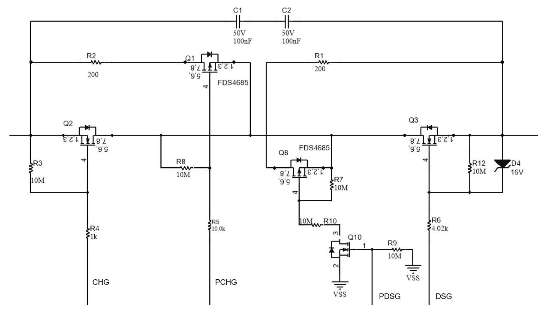 基于BQ40z80的电量计电路设计原则