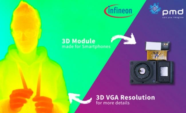 英飞凌和 pmdtechnologies 与高通合作,实现面向 3D 身份验证的高质量标准解决方案