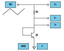 ADALM2000 实验:将 BJT 连接为二极管