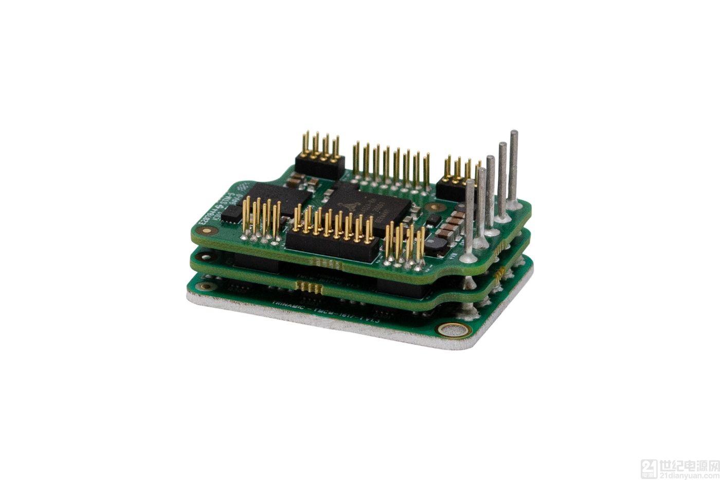 Trinamic 推出世界上最小最轻的伺服控制器模块