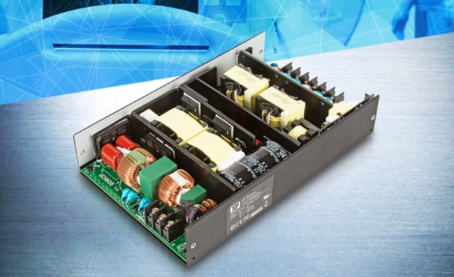 XP Power 宣布推出一款新的对流冷却型,600W AC-DC 电源系列