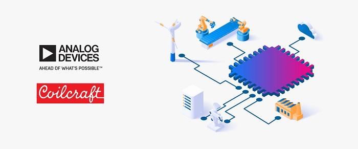 贸泽电子发布全新技术文章介绍 Analog Devices 和 Coilcraft 节省空间的工业解决方案