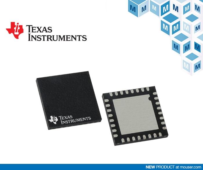 TI LMG341xR050 GaN 功率级在贸泽开售 支持高密度电源转换设计