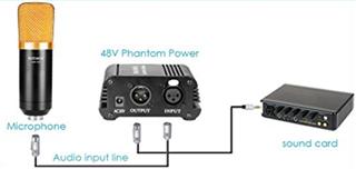 TPS61391升压变换器,为电容麦克风提供48V超低噪声幻象电源
